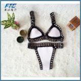 Sexy полиэстер купальный костюм для линии бикини пляж