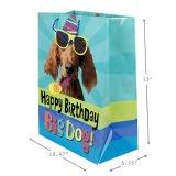 Sac cadeau Brithday Papier, sac de papier, papier kraft sac, sac de papier couché brillant de l'impression
