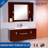 Governo di stanza da bagno di legno di nuovo trucco di disegno con lo specchio