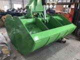 Pelle hydraulique de benne benne sol rotatif s'emparer de la benne