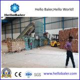 Semi horizontales de residuos de papel automática Máquina de empacado8-10 (HSA)
