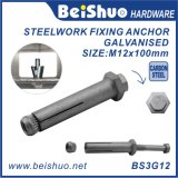 Boulon d'anchrage M12 fabriqué en Chine