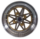 黒い仕上げ(LW372)を用いる合金の車輪
