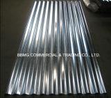 La toiture ondulée intense de zinc de Customed couvre la feuille en aluminium ondulée de toiture
