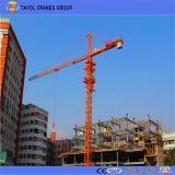 7055 El equipo de construcción grúa torre 70m de longitud de pluma Grúa torre