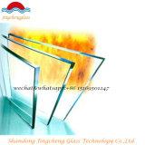 내화성이 있는 4-19mm 안전 공간 또는 SGS를 가진 반대로 화재 강화 유리