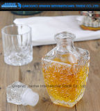Бутылка вина кристаллический стекла главного качества с стеклянным спаем