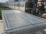 Panneaux de clôture provisoires de maillon de chaîne, clôture provisoire de fil de construction