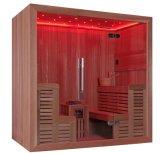 Nuova sauna M-6044 di buona qualità di legno solido di disegno 2017