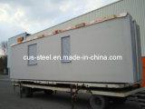 Prefabricada de acero ligero Casas portátiles, Casa contenedor de 20 pies / Knock Down Sistema