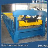 Machine à carreler pour l'acier de couleur