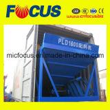 Máquina de procesamiento por lotes por lotes concreta automática PLD1600 Batcher agregado de la eficacia alta