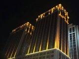 옥외 좁은 광속 각 주문 LED 궤도 플러드 빛
