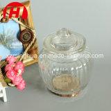 زجاجيّة طعام/سكّر نبات تخزين مرطبان مرطبان كبيرة واضحة زجاجيّة