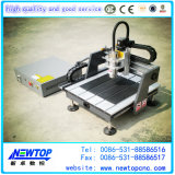 Mini router Machine4040 do CNC do Woodworking 3D