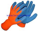 Латексные перчатки теплой зимы