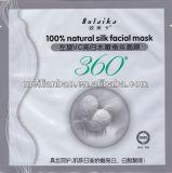 Whitening a máscara de seda natural do tratamento da cara de L-Vc