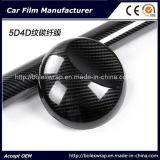 Alto involucro lucido della fibra del carbonio della pellicola 5D del vinile dell'involucro della fibra del carbonio dell'automobile, struttura 4D