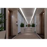 avec le panneau de mur acoustique de décoration de conformité de FSC de bois de construction en bois d'intérieur de matériaux