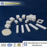 Mattonelle di ceramica del cerchio della piastrina di ceramica dell'allumina/allumina resistente all'uso di Exceelent