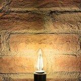 bulbo del filamento de las bombillas de 2W 4W 6W Dimmable Edison LED