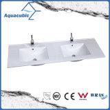 Bassin de salle de bains et bassin d'une seule pièce de partie supérieure du comptoir (ACB7610)