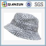 卸し売り熱い販売の絹によって印刷される象のバケツの帽子