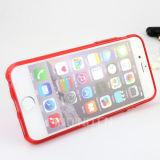 iPhone 6/6s аргументы за сотового телефона TPU Kickstand передвижное плюс