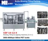 Plástico automática Botella Embalaje agua de llenado máquina embotelladora