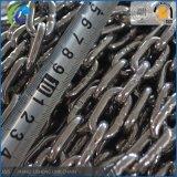 304/316 encadenamiento de conexión del acero inoxidable, encadenamientos de ancla del acero inoxidable