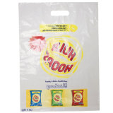Vier Farbe gedruckte Plastiktaschen für das Einkaufen (FLD-8590)