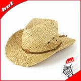 Шлем естественного ковбоя Sun сторновки рафии Unisex