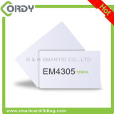 Em Company에서 Rewritable 플라스틱 PVC 스마트 카드 칩 Em4305 RFID 카드