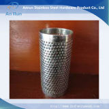 Filtro de tubo de metal perfurado de aço inoxidável