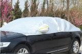 A prata de dobramento PEVA da parte alta Waterproof tampa do carro do pára-sol a meia