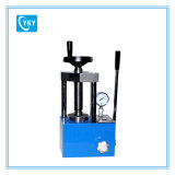 12t de poudre manuellement une presse hydraulique machine avec le pointeur de jauge de pression