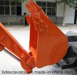 Máquina escavadora pequena Red/0.25m3 Bucket/6500kg da roda para a venda
