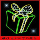 Luz de la caja de regalo del adorno de la decoración de la Navidad del LED