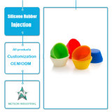 Настраиваемые силиконового герметика продукции пищевой посудой Cupcake выпечки,