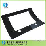 2017 Shandong 5 mm espessura curvada vidro temperado