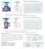 Нормальный вентиль литой стали JIS F7319 10K морской