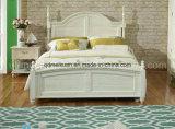Твердые деревянные кровати современные двуспальные кровати (M-X2266)