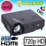 Профессиональный 3000лм домашнего кинотеатра видео LCD проектор LED HD Ready