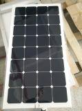 a+ 급료 100W Sunpower 반 유연한 태양 전지판