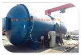 中国3000X8000mm Ce/ASMEのPLC制御を用いる公認の産業複合材料の結合のオートクレーブ