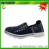 De nieuwe Tennisschoenen van de Schoenen van de Vrouwen van het Meisje van de Manier van de Aankomst van de Stijl Jonge Buitensporige Vlakke Toevallige Geweven