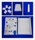 1 puerto FTTH caja de montaje en la pared interior de la fibra Residente de distribución óptica caja de la placa frontal