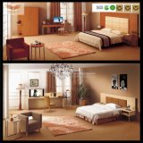 Mobília de cinco estrelas do quarto do hotel da mobília de madeira da alta qualidade ajustada (HY-028)