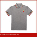 Custom Polo Collar Sport T-Shirts with Embroidery Design (P16)