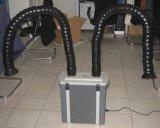 Extracteur de soudure de petite taille de bureau de vapeur de soudure avec des bras d'extraction de vapeur
